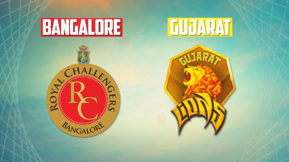 RCB Vs GL Match Prediction ,Where To Watch Live Streaming , Live Score & Match Details