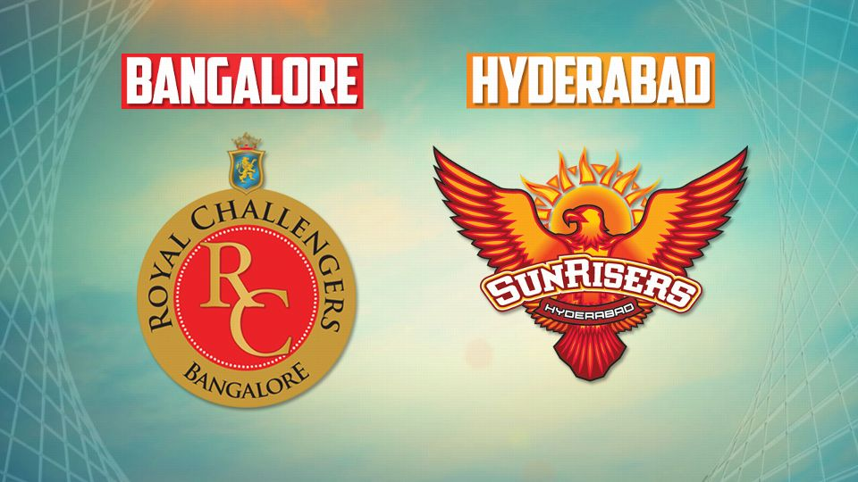 RCB Vs SRH Match Prediction ,Where To Watch Live Streaming , Live Score & Match Details